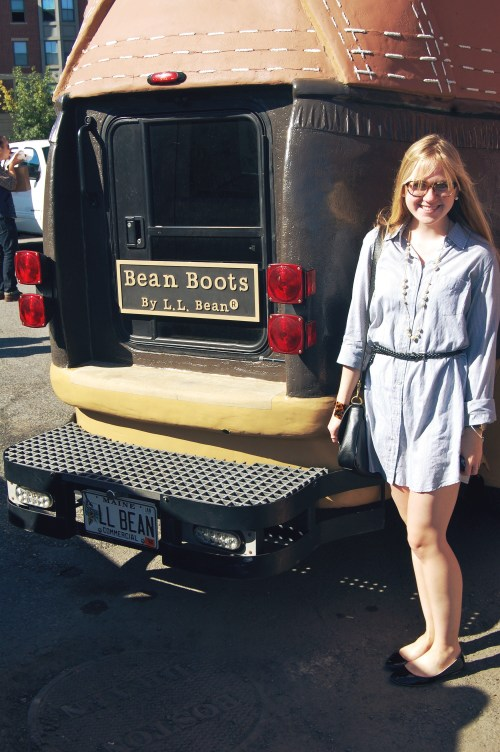 ll bean boot truck