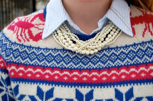 Nautical Christmas Sweater