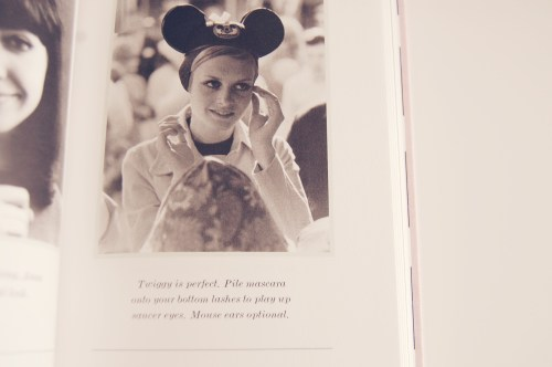 Twiggy in Mickey Mouse Ears