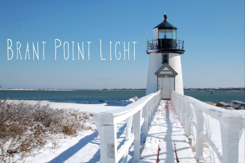 Brant Point Lighthouse Winter