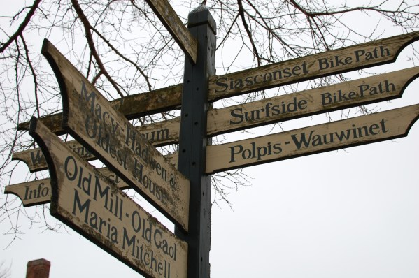 Nantucket Street Signs