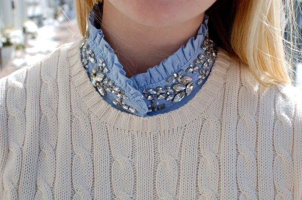 J Crew Jewel Collar