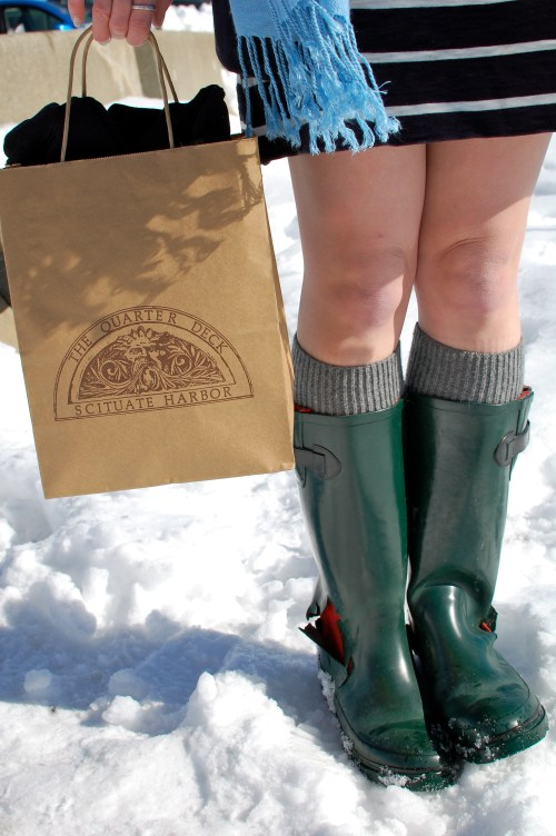Forest Green Rain Boots