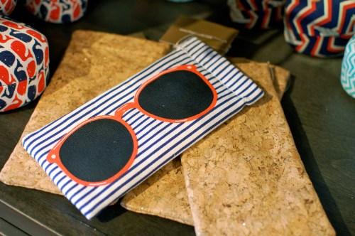 Nautical Sunglasses Case