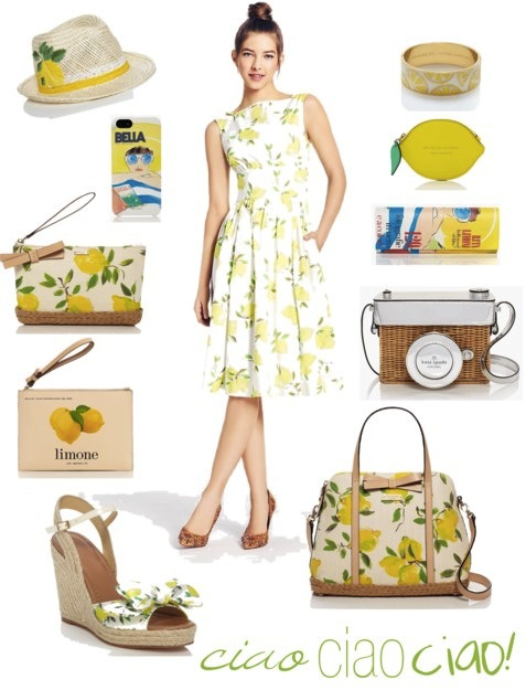 Kate Spade Italy Collection | Spring 2014