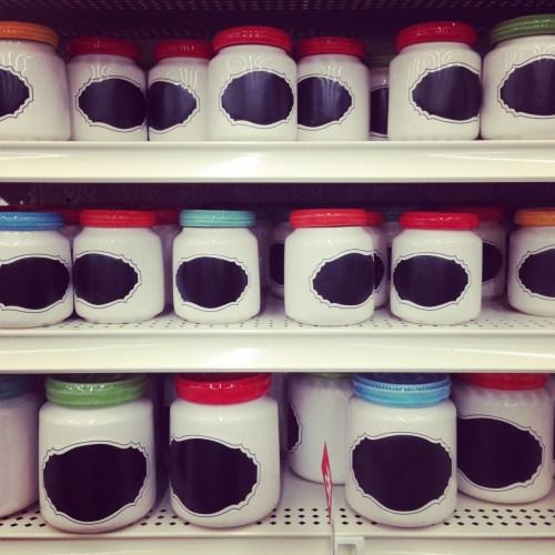 Chalkboard Mason Jars / Baking Jars