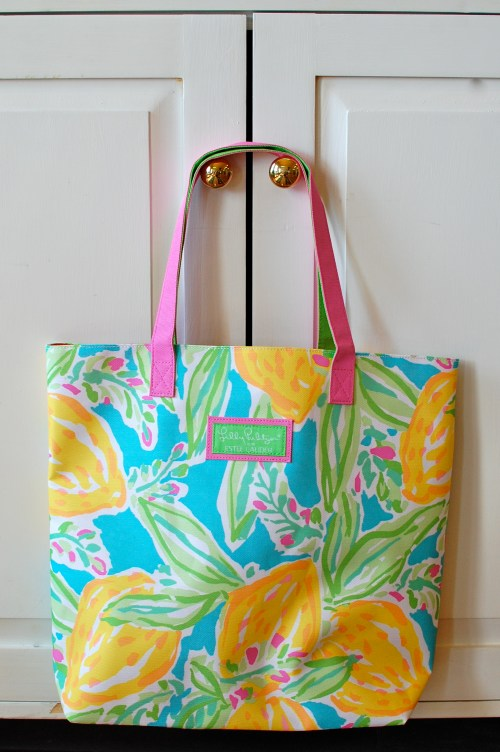 Lilly Pulitzer Summer Tote Bag