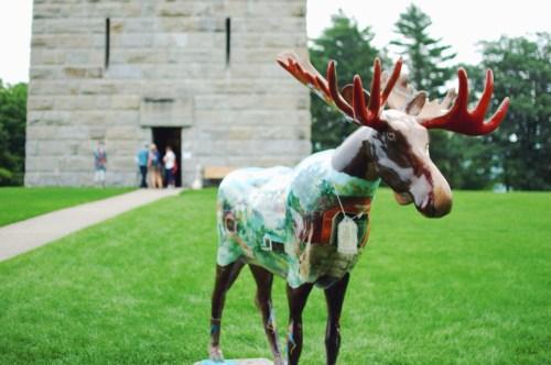 Vermont Moose Art