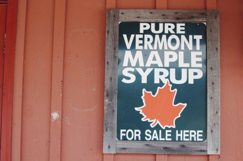 Vintage Vermont Maple Syrup Sign