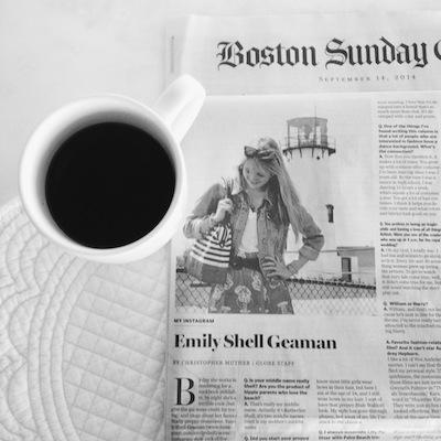 Emily Geaman Press Page