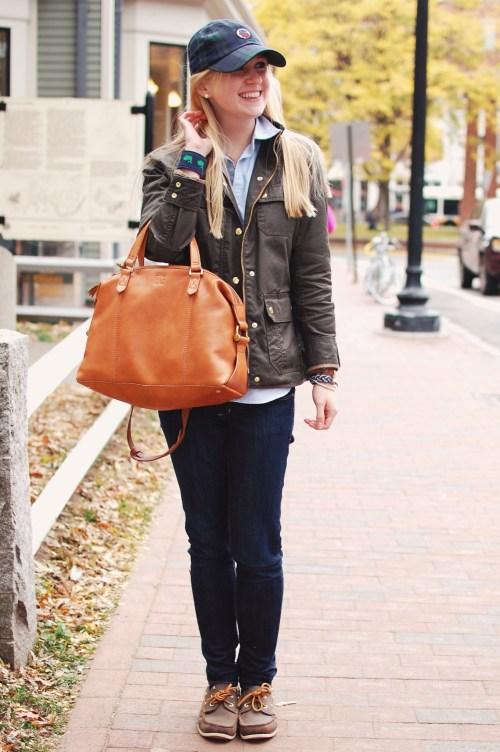 Harvard Square Fall Fashion