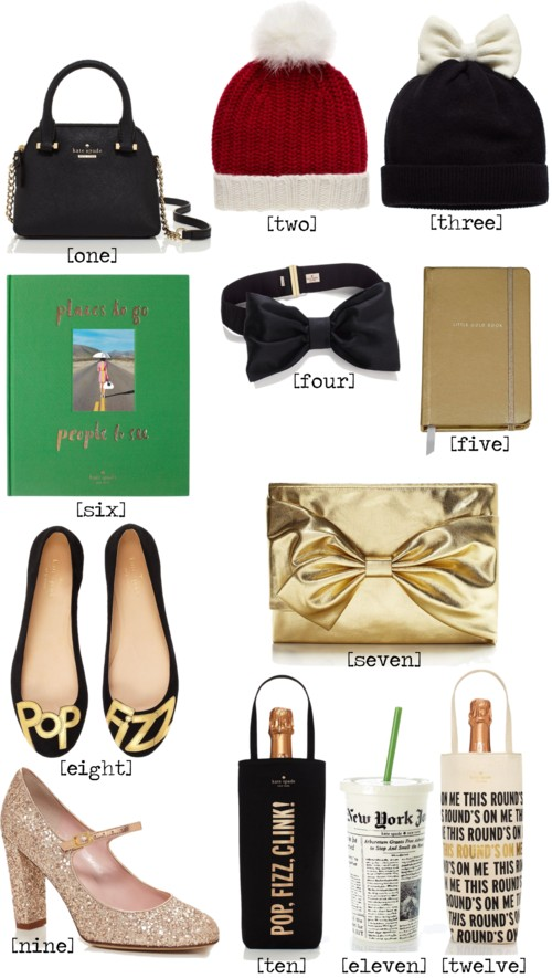 Kate Spade Holiday Hostess Gifts