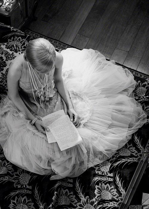 Daisy Buchanan Black and White Photo