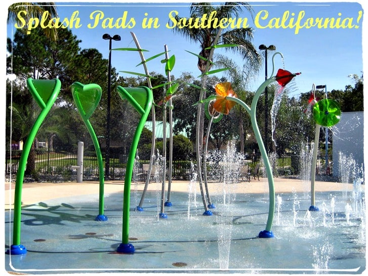 Splash Pads in Orange County