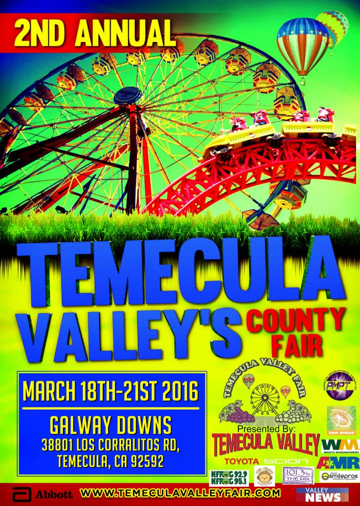 Giveaway Win 4 Tickets Temec Valley Fair Presented By