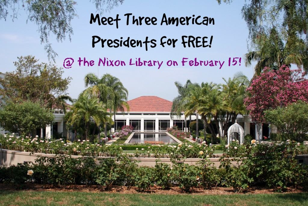 Meet the presidents at the Richard Nixon Library in Yorba Linda, California