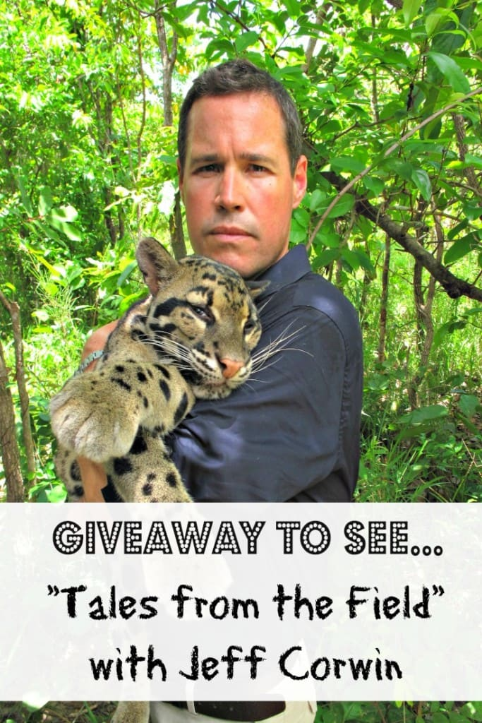 Get tickets to see Tales from the Field with Jeff Corwin at Musco Center for the Arts on May 1