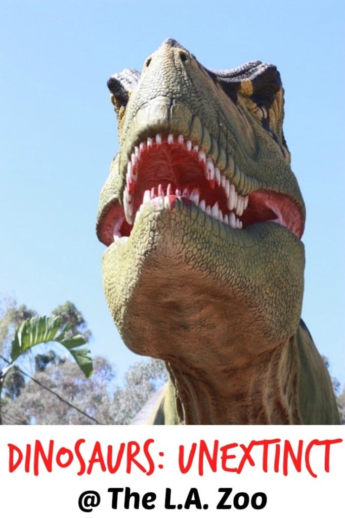 Dinosaurs at the LA Zoo - See the New Exhibit!