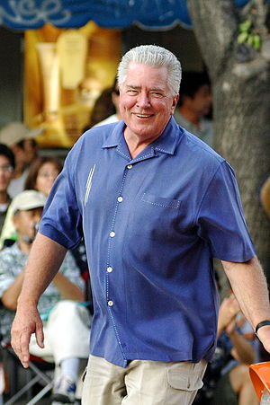 Huell Howser at the Nisei Week Grand Parade, L...