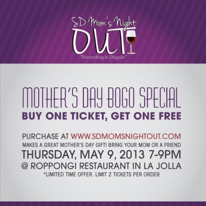 SD Mom's Night Out BOGO
