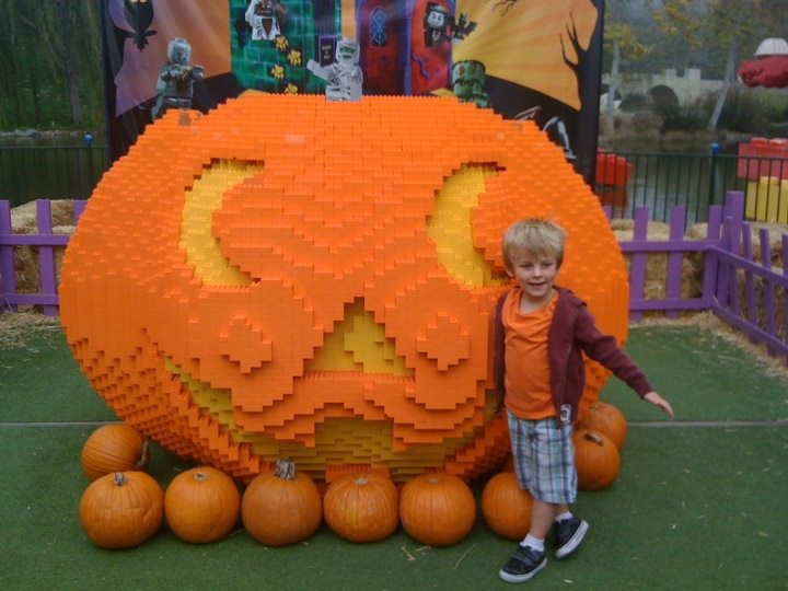 Brick-or-Treat at Legoland California