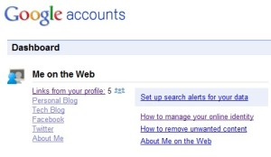 Google Rolls Out Online Privacy Tool Me on the Web