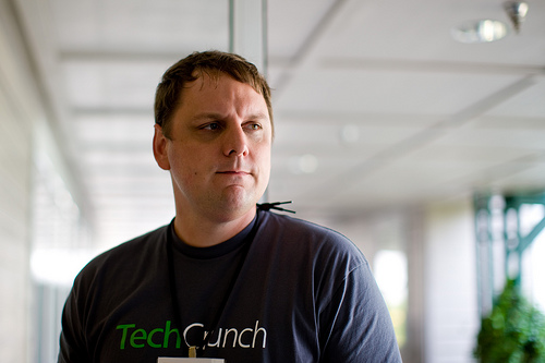 Michael Arrington has resigned from his post as co-editor of the tech blog he founded, TechCrunch, to manage a new AOL-backed venture capital fund called CrunchFund. Image: Joi / Flickr (CC)
