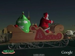 Google, NORAD Tracks Santa Claus For Christmas - NORAD Tracks Santa, Google NORAD, Google Christmas