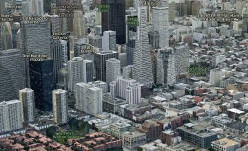 Apple's New Maps App replaces Google Maps for iOS 6 to be released this fall. (Image: via thenextweb.com)