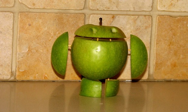 Google, Apple, Android, iOS, RIM, Research In Motion, BlackBerry, Microsoft, Windows Phone, market share, 2012, forecast, prediction,