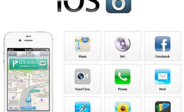 Apple iOS 6 has a slightly lower rating than iOS 5, primarily due to the not-so-good maps app of the new iPhone 5. (Image: Photo Giddy (CC) via Flickr)