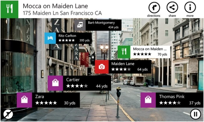 Nokia City Lens 1.5 Beta For Windows Phone 7 Now Available