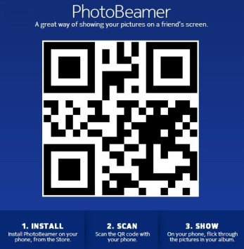 Nokia's PhotoBeamer Automatically Shares Photos Using QR Codes