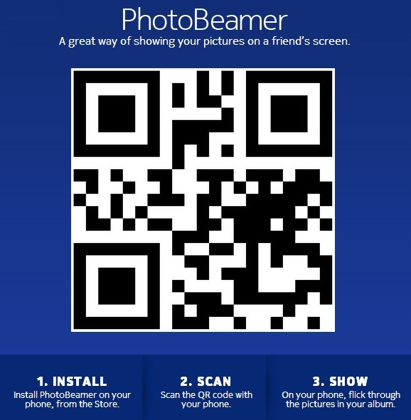 Nokia's PhotoBeamer Automatically Shares Photos Using QR Codes