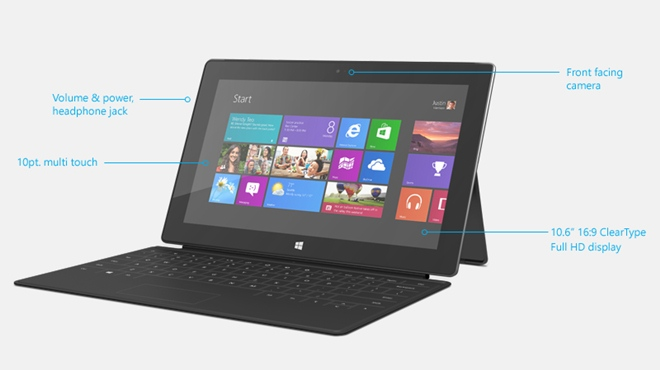 Surface Pro, Microsoft, battery life,