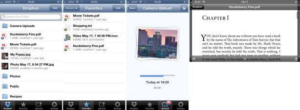 Dropbox for iPhone