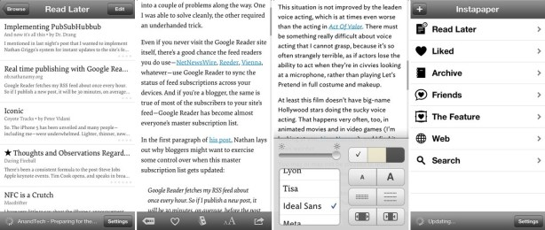 Instapaper for iPhone