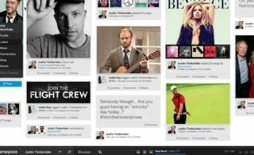 New MySpace layout looks a lot like Instagram; has new investor in Justin Timberlake. (Image: via abcnews.go.com)