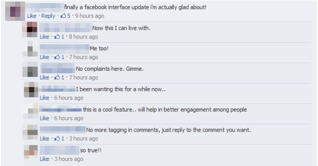 Facebook, Replies feature, Pages, Reply,