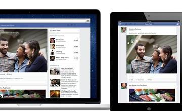 multiple platform News Feed redesign