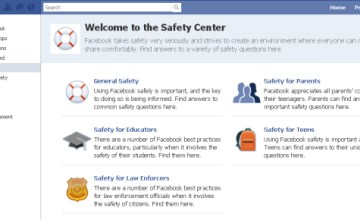 Facebook collaborates with attorneys general in the United States to organize public service announcements and other tools and tips to instruct teenagers regarding how to use privacy settings. (image via http://i.i.com.com/)
