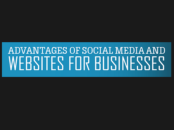 Social media, website, advantages, infographic,