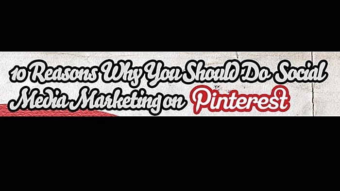 10 reasons for pinterest social media marketing infographic