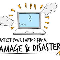 How to Protect Your Laptop from Damage & Disaster [INFOGRAPHIC]