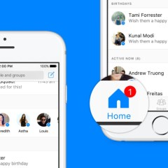 Facebook redesigns Messenger with Home and Birthday reminder tabs