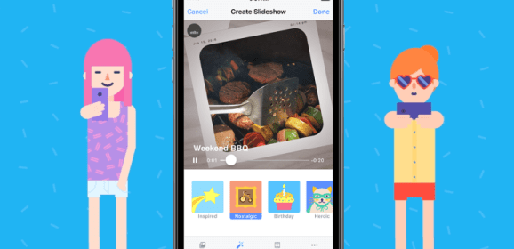 Facebook makes Slideshow available to iOS users