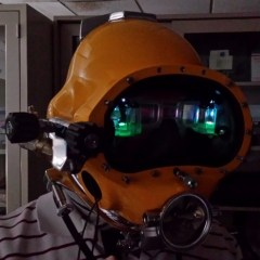 Futuristic HUD for Diving Helmets – It's Like in the Ironman Movie