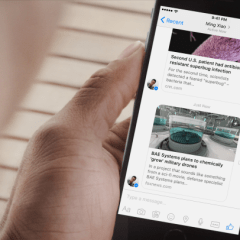 Facebook integrates Instant Articles technology into Messenger