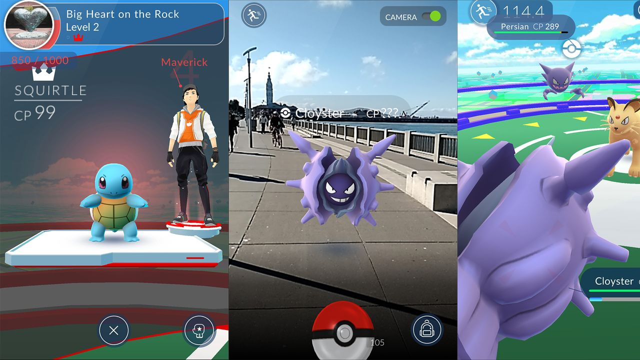 Pokemon Go Out Now in UK
