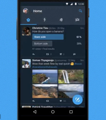 Twitter Introduces Night Mode to Help You Tweet in the Dark